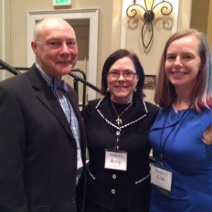 Pictured from left to right: Robert Lawrence, MD – Clinical Professor, University of Florida College of Medicine, Amy Vickers, MSN, RN, IBCLC – Executive Director, Mothers' Milk Bank of North Texas, Erin Hamilton Spence, MD – Fort Worth Neonatologist, Pediatrix Medical Group