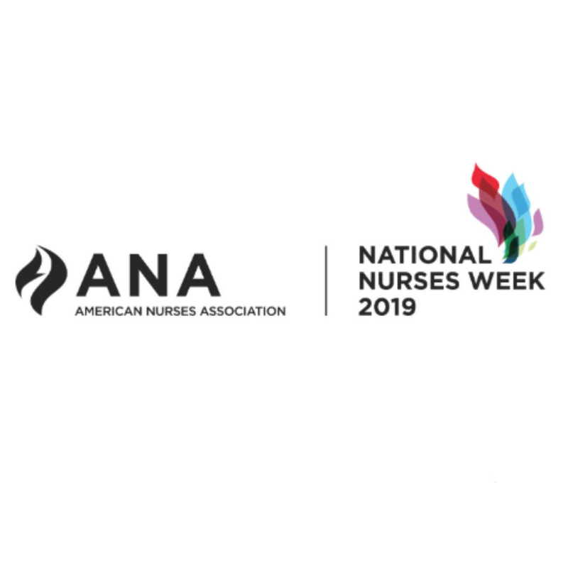 National Nurses Week 2019 logo