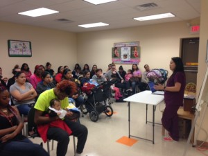 Breastfeeding Session at WIC Spring Celebration