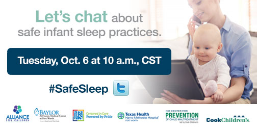 Join a City-Wide Twitter Chat About Safe Sleep for Infants